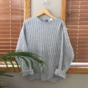 Vintage Stone Knit Sweater